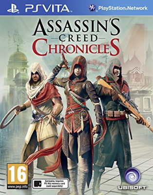 Assassin`s Creed Chronicles Trilogy PS Vita Game (PAL)  GAME NEW