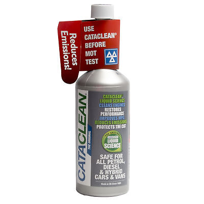 Cataclean For Petrol & Diesel 450ML Catalytic Converter Additive To Clean Cat