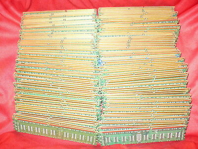 Lot of 3.65Lbs Computer Memory PC Boards w/o IC chips for Scrap Gold Recovery