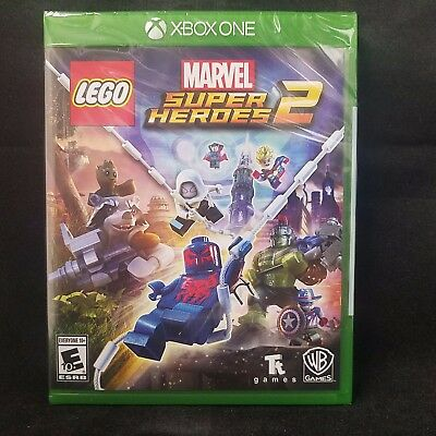 LEGO Marvel Super Heroes 2 (Microsoft Xbox One, 2017) BRAND NEW