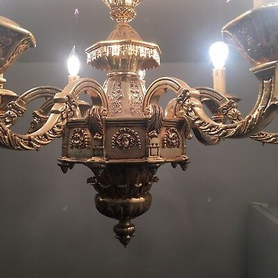 Vintage Chandelier Weights Over 60 Lb! Made In Italy.