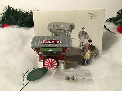 New Department 56 Heritage Village Series Town Tinker Set Of 2 5646-4