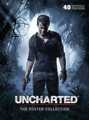 Uncharted The Poster Collection by . Naughty Dog 9781608874002 | Brand New