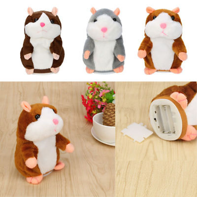 Adorable Mimicry Pet Toy Speak Talking Record Hamster Mouse Plush Kids Toys Gift
