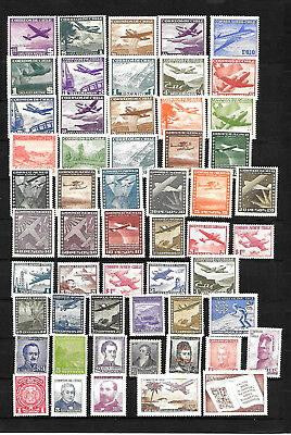 Chile, kleines Lot, mostly air mails  mnh/**    (FZ)