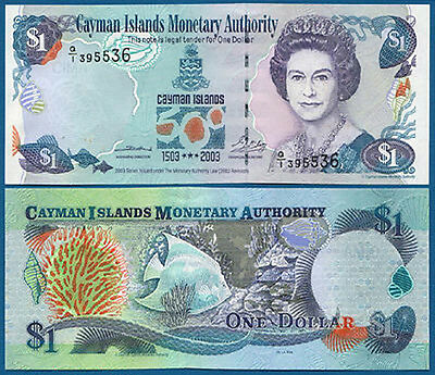 KAIMANINSELN / CAYMAN ISLANDS 1 Dollar 2003 UNC  P. 30