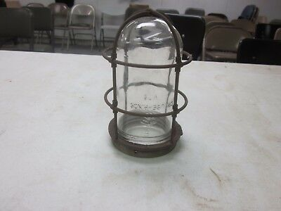 Crouse-Hinds Vintage Industrial Explosion Proof LIGHT COVER