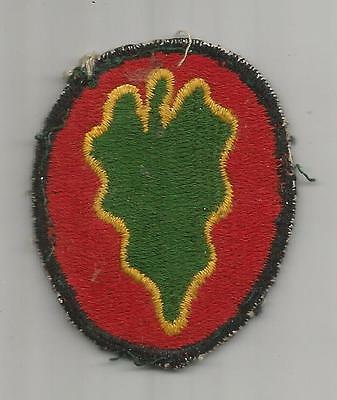 Off Uniform Theater Made WW 2 US Army 24th Infantry Division Patch Inv# H472