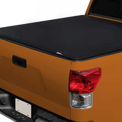 Dodge Ram 1500 6 4 Ft 76 8 Bed Hidden Snap On Vinyl Truck Tonneau Cover Fit 19