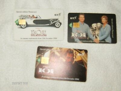 bt phon card collectables 101 dlamatians
