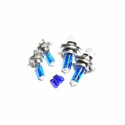 Main//Dipped//Side Dipped Headlamp Light Bulbs 55w Ice Blue H4 501 Xenon HID XE2