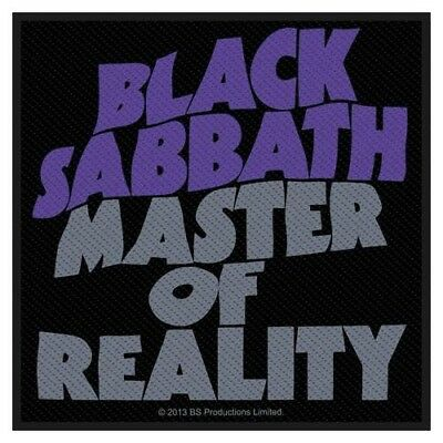 Black Sabbath Aufnäher Sew-on Patch Master Of Reality