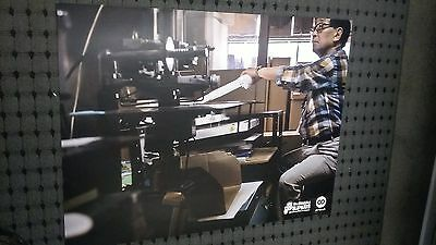 POSTER of DR SUZUKI inventor of the dj slipmats Rare Cool / technics 1200 record