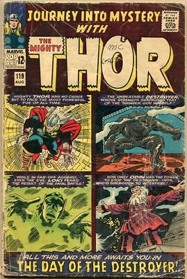 Journey Into Mystery #119 - FR - 1st Appearance Of The Warriors Three