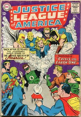 Justice League Of America #21 - FR - 1st SA Appearance Of The Justice Society