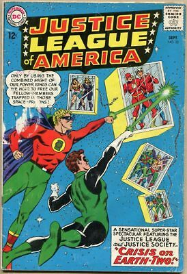 Justice League Of America #22 - G+ - 2nd SA Appearance Of The Justice Society