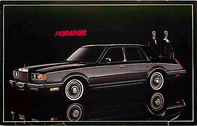 Advertising Postcard 1982 Lincoln Continental (#2)