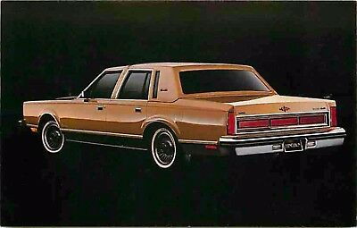 Advertising Postcard 1983 Lincoln Town Car (#2)