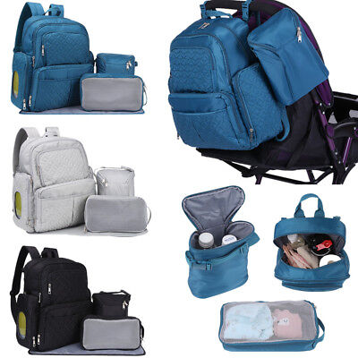 Multifunctional Baby Nappy Diaper Backpacks Large Mummy Maternity Changing Bags