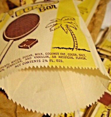 (10) Unused 1950's-60's BONGO Bar Brand  Ice Cream Bar Wrapper