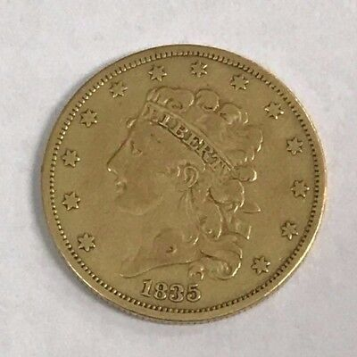1835 U.S $5 Classic Gold Piece *Choice Original VF*