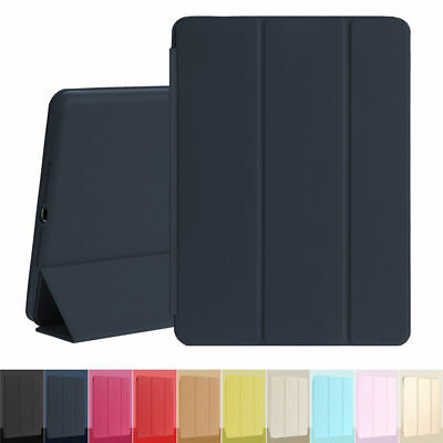 Slim Leather Smart Cover Silicone Case Flip Stand For Apple iPad 2/3/4 Mini Air