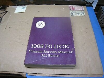 1968 Buick Chassis Service Manual (All Series) General Motors Corp.