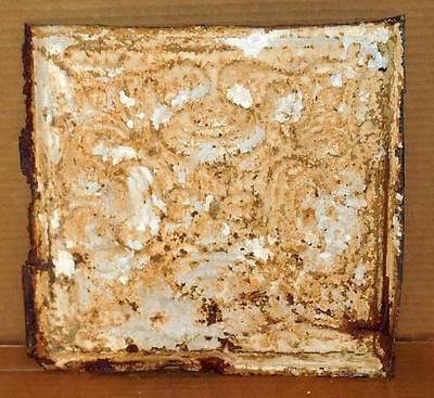 """Vintage Early 1900's 12"""" x 12"""" Ceiling Tiles Antiques Ceiling Tins Salvage #10"""
