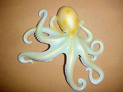 OCTOPUS Wall Decor Tropical Fish Beach Bath Ocean Nautical Aquarium 4 Inch