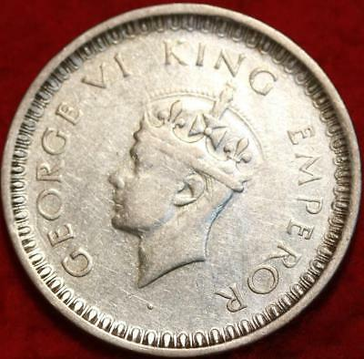 1942 India Rupee Foreign Coin Free S/H