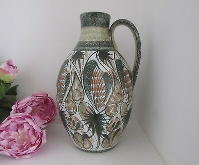 Glyn Colledge Bourne Denby Pitcher - Studio Pottery - 12 inches tall