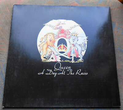 LP QUEEN A Day At The Races 1st GERMANY, EX+/MINT-