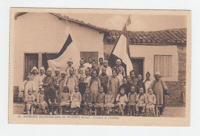 China Old Postcard Mission Group Of Christians Wuping !!