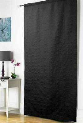 Heatwave Thermal Door Curtain Panel, Energy Saving Curtains, 117x 213 cm