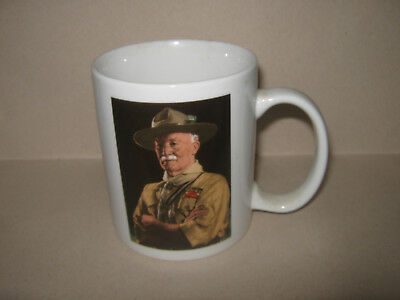 "Scouts Lord Baden Powell ""A Man of Great Vision"" Mug"