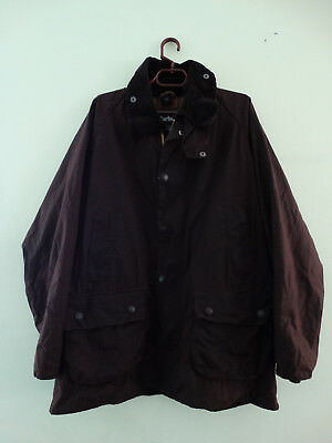 Mens BARBOUR BEDALE Waxed Rustic Brown jacket jacke coat size C42 107cm