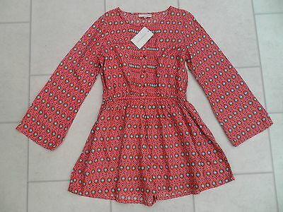 New Girls Tammy Pink Playsuit Age 10-11 Years