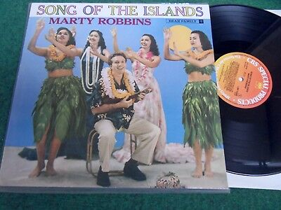 Marty Robbins – Song Of The Islands (Lp, CBS Special /Bear Family, 1983) Vinyl