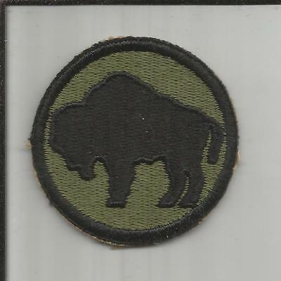 WW 2 US Army 92nd Infantry Division Patch Inv# X066