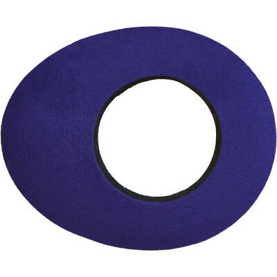 New Bluestar Small Oval Purple Ultrasuede Microfiber Viewfinder Eyecushion 6011
