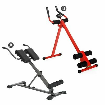 Roman Chair, Abs Bench and Power Plank Hyperextension Home Training Equipment