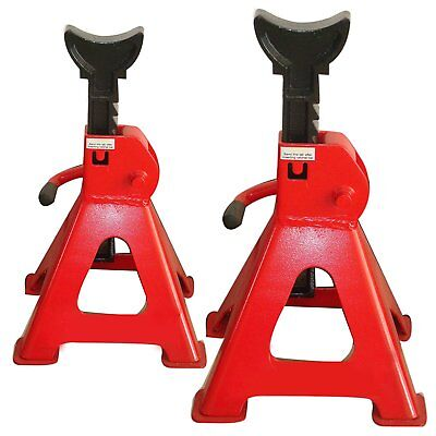6 Ton Jack Stand Pairs (Heavy Duty, Adjustable Height