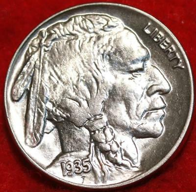 Uncirculated 1935  Philadelphia Mint  Buffalo Nickel Free Shipping