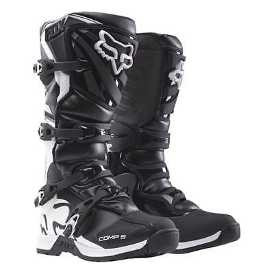 FOX COMP 5 Boots schwarz Motocross Enduro Supermoto Stiefel MX COMP5