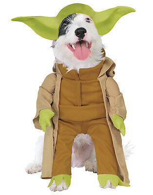 Dog Star Wars Yoda Dress Up Costume With Plush Arms
