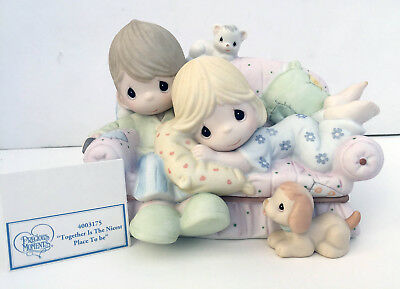 """Precious Moments """"Together Is The Nicest Place To Be"""" Figurine NEW NIB 4003175"""