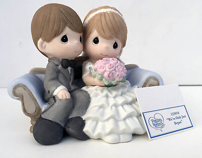"""Precious Moments """"We've Only Just Begun"""" Porcelain Figurine NEW IN BOX 123016"""