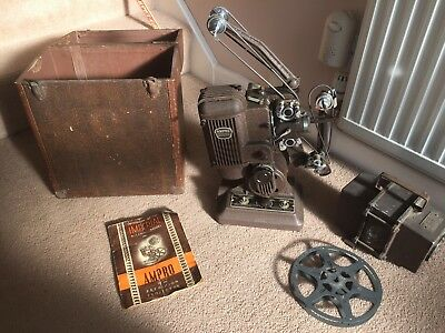 1940s Ampro 16mm Film Projector.