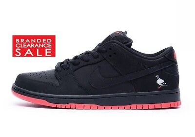 quality design 4377c fbfe9 BNIB New Men Nike Sb Dunk Low X Jeff Staple Black Pigeon Red Sole Size 7.5