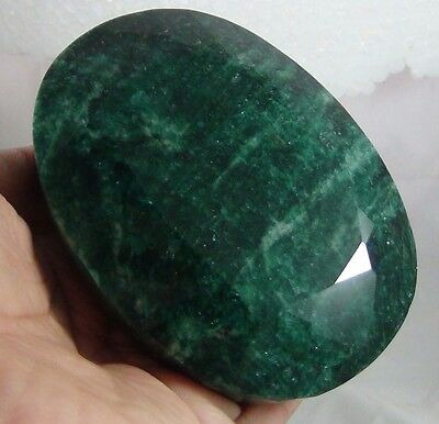 2468Ct NATURAL EMERALD FACETED GEMSTONE OVAL SHAPE CERTIFIED HUGE NATURAL